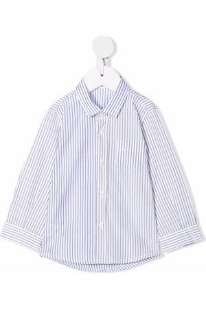 Il gufo Stripe-print shirt