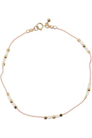 Petite Grand Buttercup beaded anklet