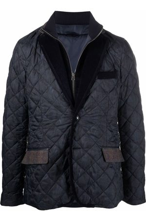 Etro Paisley-print quilted jacket