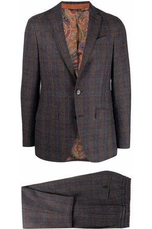 Etro Prince of Wales tailored suit