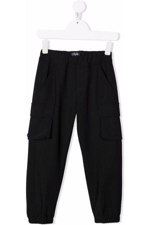 Il Gufo Elasticated cargo trousers