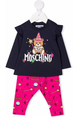 Moschino Teddy Bear trouser set