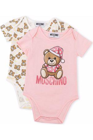 Moschino Kids Teddy bear body set