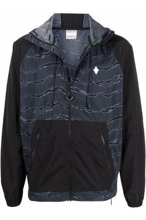 MARCELO BURLON Men Sports Jackets - All over camouflage windbreaker jacket