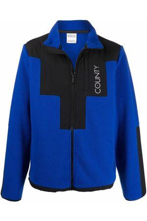 Marcelo Burlon County of Milan Men Sports Jackets - Stellar pile track jacket