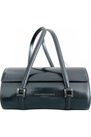 KATHARINE HAMNETT Leather bowling bag