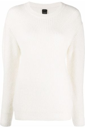 Pinko Ribbed knitted jumper