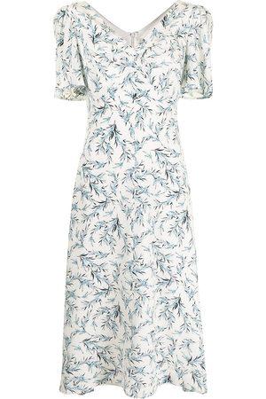 JANE Women Printed Dresses - Meadow floral-print dress