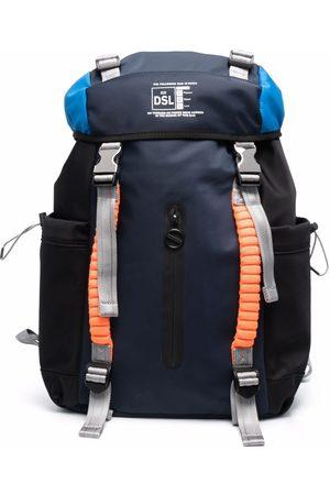 Diesel Men Rucksacks - Buckled-strap backpack