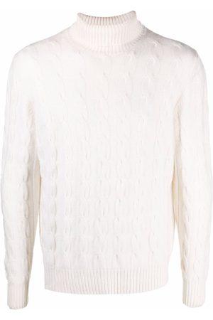 Eleventy Men Turtlenecks - Roll-neck cashmere jumper