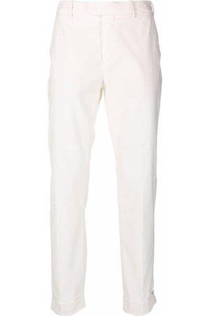 ELEVENTY High-rise slim-fit trousers
