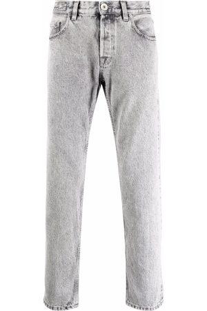 ELEVENTY Bleach-washed slim-cut jeans - Grey