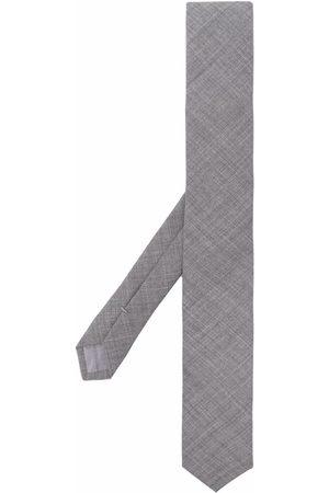 ELEVENTY Knitted wool necktie - Grey