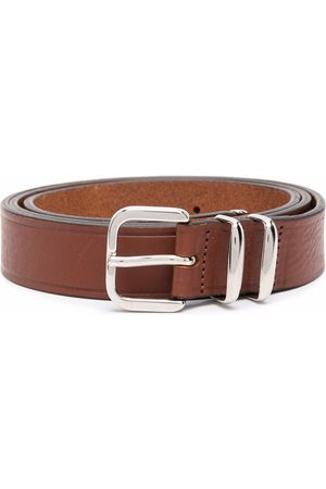 Eleventy Square buckle belt