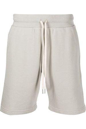 JOHN ELLIOTT Crimson cotton track shorts - Neutrals