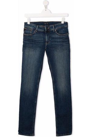Emporio Armani Kids Slim-cut jeans