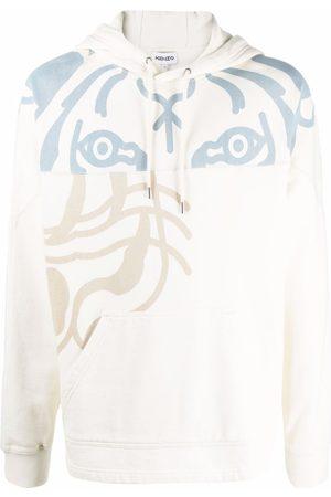 Kenzo Men Hoodies - Tiger logo hoodie