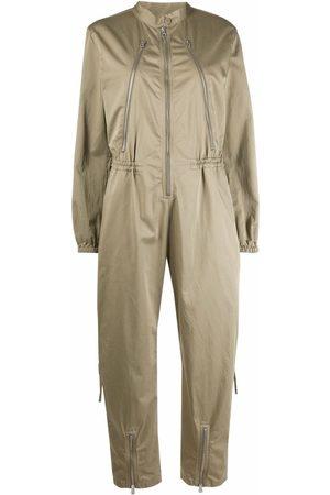 MM6 Maison Margiela Women Long sleeves - Long-sleeve fitted jumpsuit