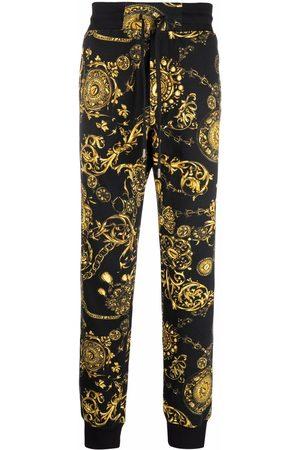 Versace Jeans Couture Men Sweatpants - Baroque-print track pants