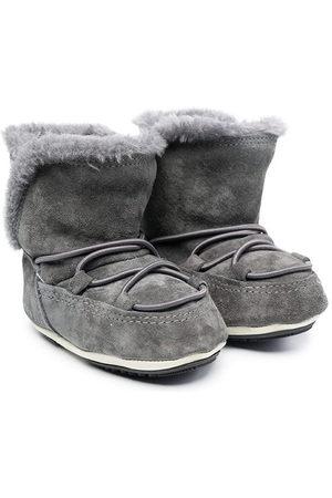 Moon Boot Kids MOON BOOT CRIB SUEDE - Grey