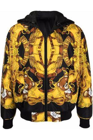 Moschino Reversible Teddy-Bear hooded jacket