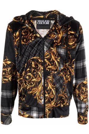Versace Jeans Couture Baroque zip-up hoodie