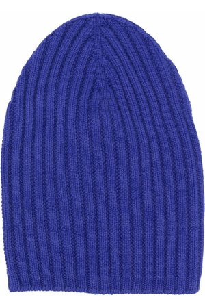 Barrie Ribbed-knit cashmere beanie