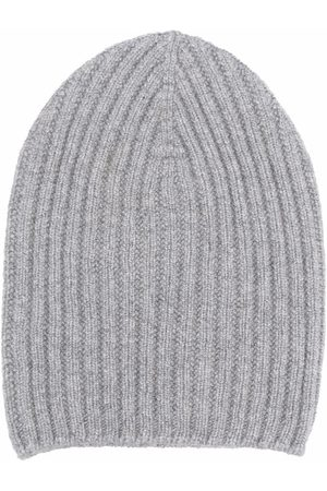 Barrie Cashmere beanie - Grey