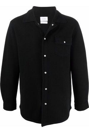 Barrie Flap-pocket cashmere overshirt