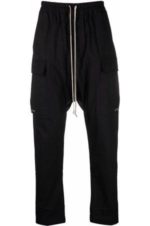 Rick Owens Men Sweatpants - Drop-crotch track pants