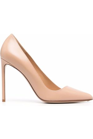 Francesco Russo Women Heels - 105mm asymmetric pumps - Neutrals