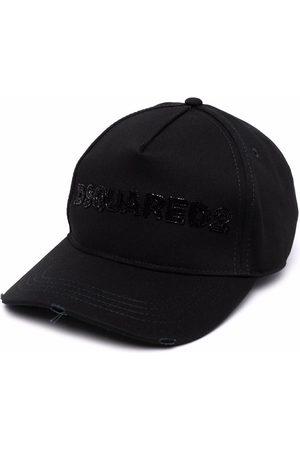 Dsquared2 Bead-embellished logo baseball cap