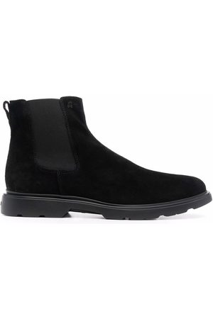 Hogan Chelsea suede ankle boots