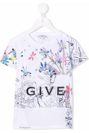 Givenchy Kids Graphic-print short-sleeve T-shirt