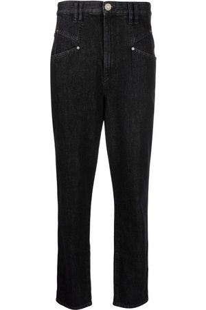 Isabel Marant Corsyv high-waisted tapered jeans