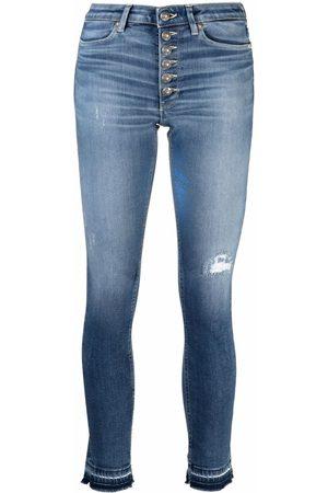 DONDUP Women Skinny - Mid-rise skinny jeans