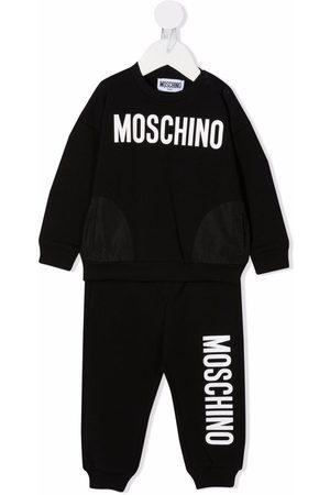 Moschino Kids Logo-print sweatshirt tracksuit