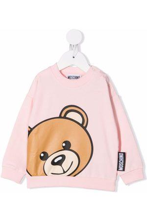 Moschino Kids Teddy Bear crewneck sweatshirt