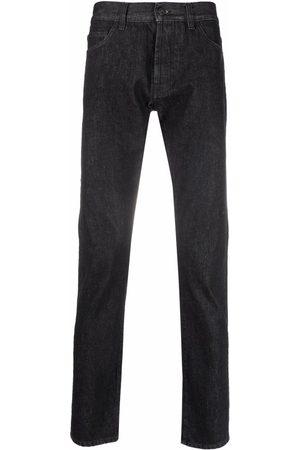 Marcelo Burlon County of Milan Straight-leg cotton jeans