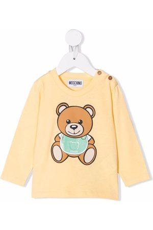 Moschino Kids Teddy Bear longsleeved top