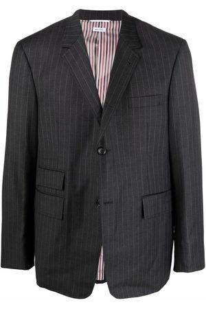 Thom Browne Striped tailored blazer - Grey