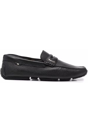 Bally Pavel leather loafers