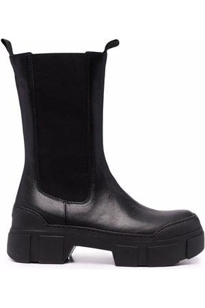 vic matiè Block-heel ankle boots