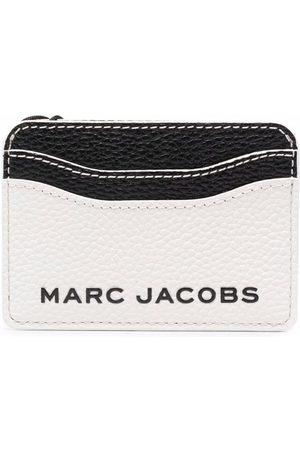 Marc Jacobs Colour-block leather cardholder