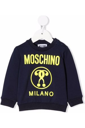 Moschino Kids Double Question Mark-print sweatshirt