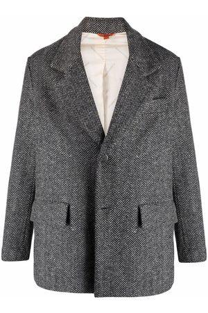 BARENA Herringbone-pattern blazer