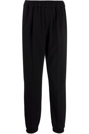 BARENA Jetted-pocket straight trousers