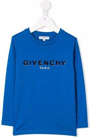 Givenchy Logo-print crew neck sweatshirt