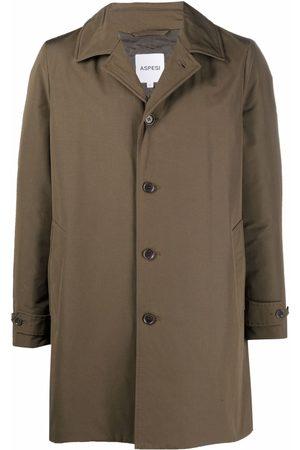 Aspesi Single-breasted tailored coat