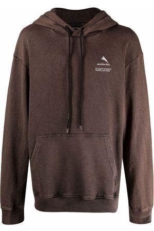 MAUNA KEA Logo drawstring hoodie